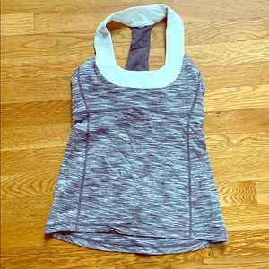 Lululemon shirt, built in bra